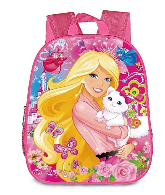 13 Inch Cartoon Marie Cat Princess Kids Backpack Kindergarten School