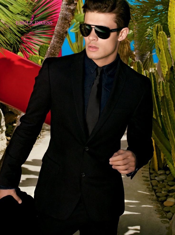 Black Suit For Prom - Ocodea.com