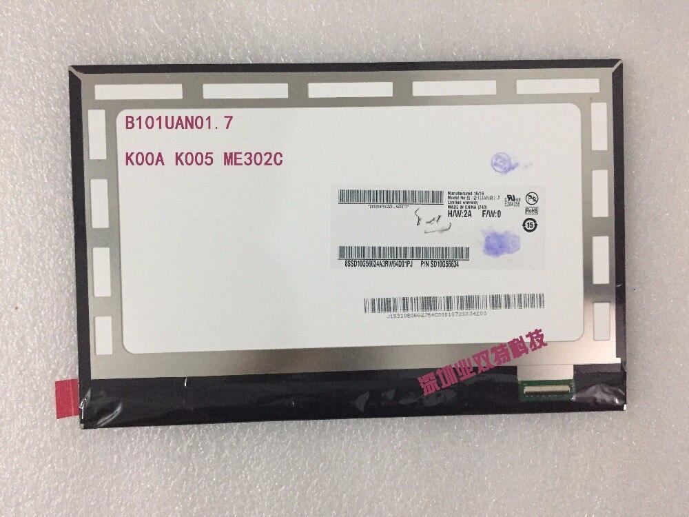 free shipping original new  K00A K005 ME302C b101uan01.7 CLAA101FP05 LCD screen original dc1052a a free shipping