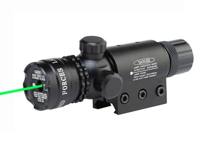 Спайк тактичний міра червоний зелений лазерний приціл регульований 5 мВт лазерний вказівник сфери з точковий перемикач для полювання airsoft пістолет airsoft