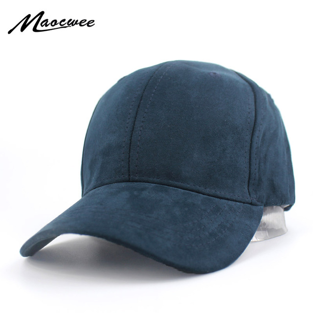 81f55f9ca4f Plain Suede Baseball Caps Casual Dad Hat Snapback Outdoor Blank Sport Solid  Color Cap and Trucker Hat for Men and Women Bone