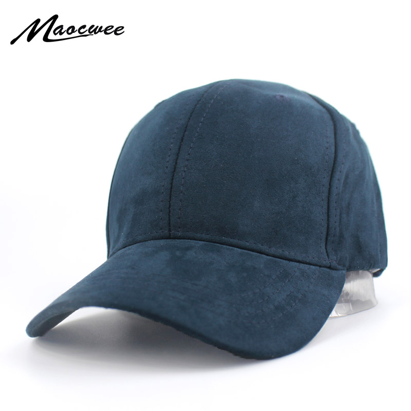 Plain Suede Baseball Caps Casual Dad Hat Snapback Outdoor Blank Sport Solid color Cap and Trucker Hat for Men and Women Bone blank kids youth baseball snapback hat