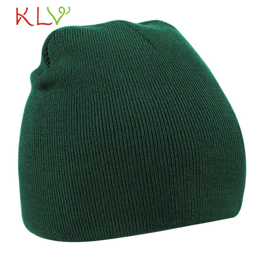 Skullies & Beanies Unisex Outdoors Winter Warm Knit Crochet Hat Braided Headdress Cap Y8073 skullies