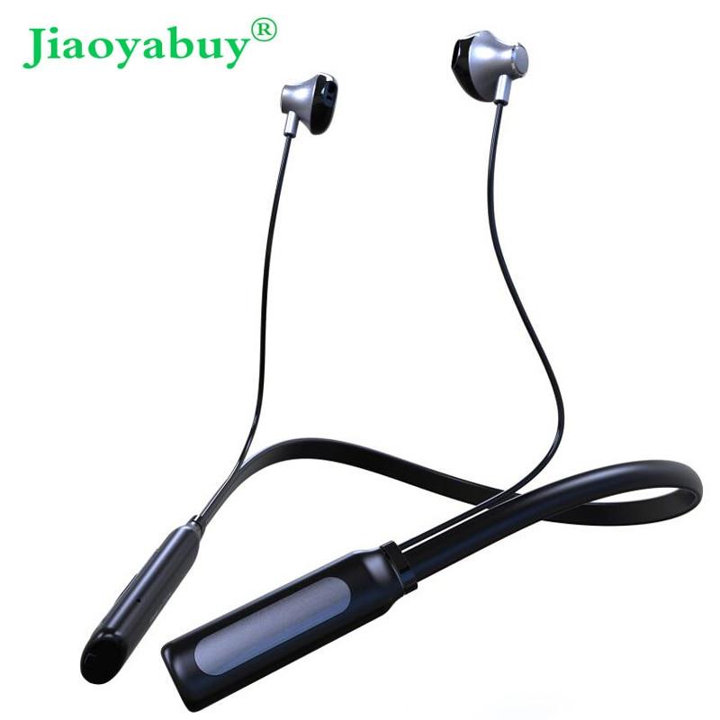 Jiaoyabuy Bluetooth Headset Wireless Handsfree Sports Bluetooth Headphone Premium Bluetooth Stereo Earphones for iPhone XiaoMi