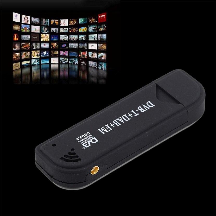 FM Sintonizzatore TV Digitale USB Ricevitore F RTL2832U /& R820T DVB-T RTL-SDR DAB Laptop//PC