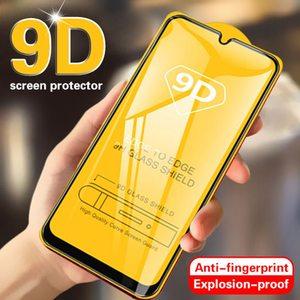 Image 1 - 5D/9D Für Samsung Galaxy A10 A20 A30 A40 Gehärtetem Glas Für Samsung Galaxy M10 M20 M30 Screen Protector volle Abdeckung Glas Film