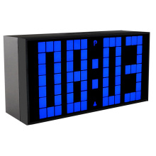 KOSDA Big Large Number LED Clock Digital Wall Alarm Clock Timer Home Clocks Fashionable Clock Calendar Temperature Luminous
