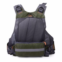 Comfortable Multifunctional Outdoor Safety Fishing Vest Quick Drying Mesh Vest Mutil-Pockets Removable Fishing Vest Jacket New