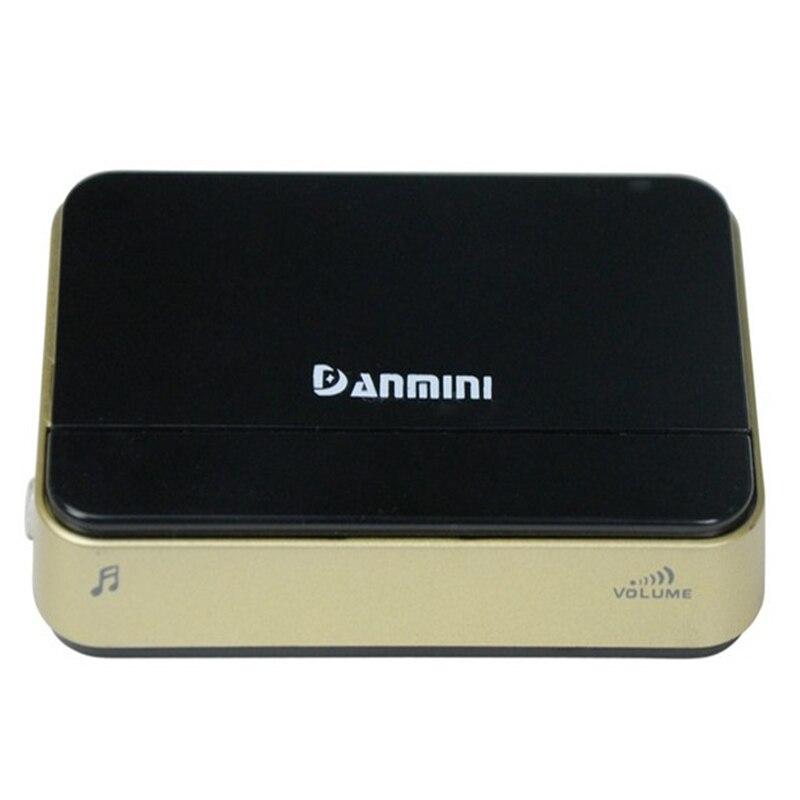 DANMINI Smart Home Wireless Doorbell camera 433.92 MHZ Doorbell Indoor Use Coordinate with Remote Security Video Intercom system