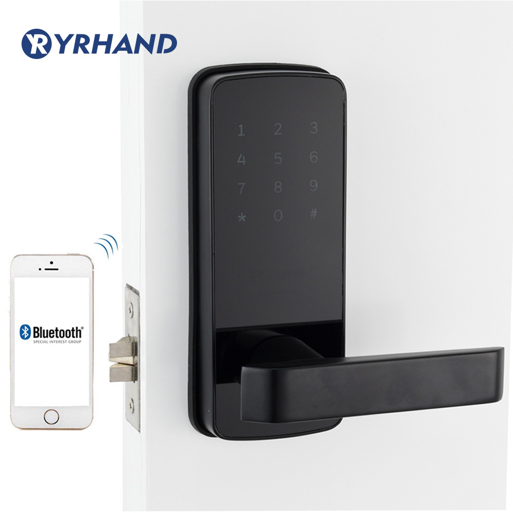 Smart Door Lock WiFi Keyless Korea Style App Digital Door Lock Bluetooth Smart Password Lock Pin