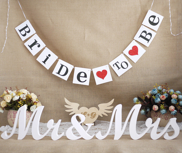 Very best Free Shipping 1 X Bride To Be Banner Bridal Shower Banner Wedding  SQ06