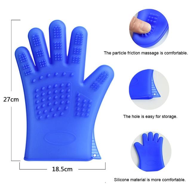 Silicone Comb Glove  3