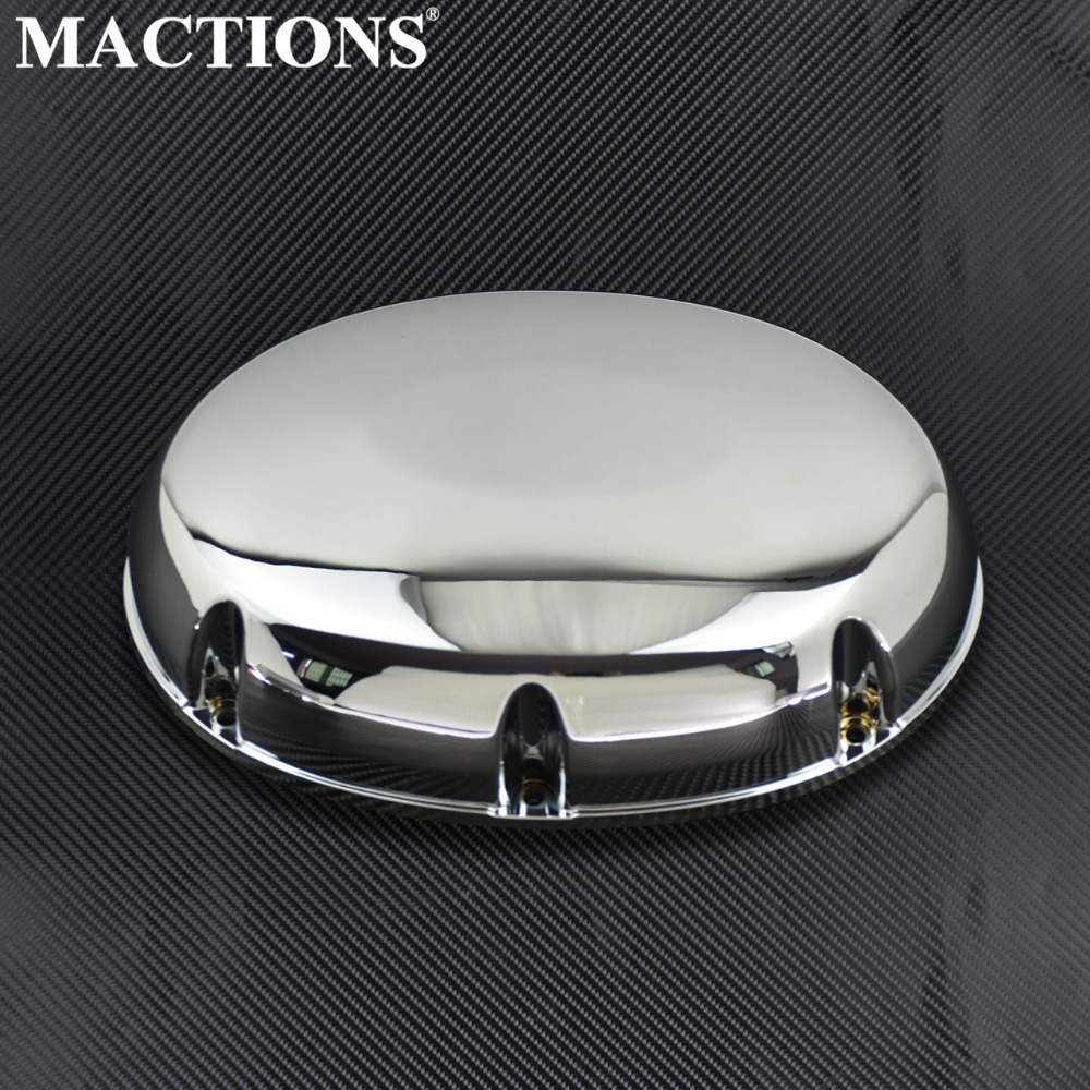 Motorcycle Air Filter Intake Cleaner Case Cover Cap Chrome For Honda Shadow 750 ACE VT750 VT400 1997-2001 2002 2003