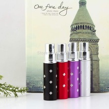1 Pcs Amazing Travel Perfume Atomizer Refillable Spray Empty Bottle