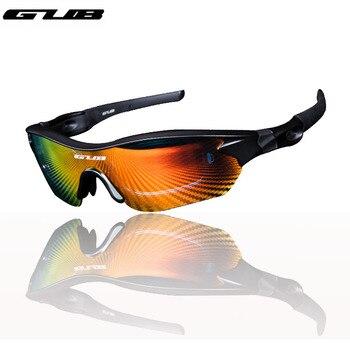 GUB 5300 Polarizer Óculos Óculos de Ciclismo Óculos de Bicicleta Ao Ar Livre Esportes Óculos De Sol para Homens ou Mulheres