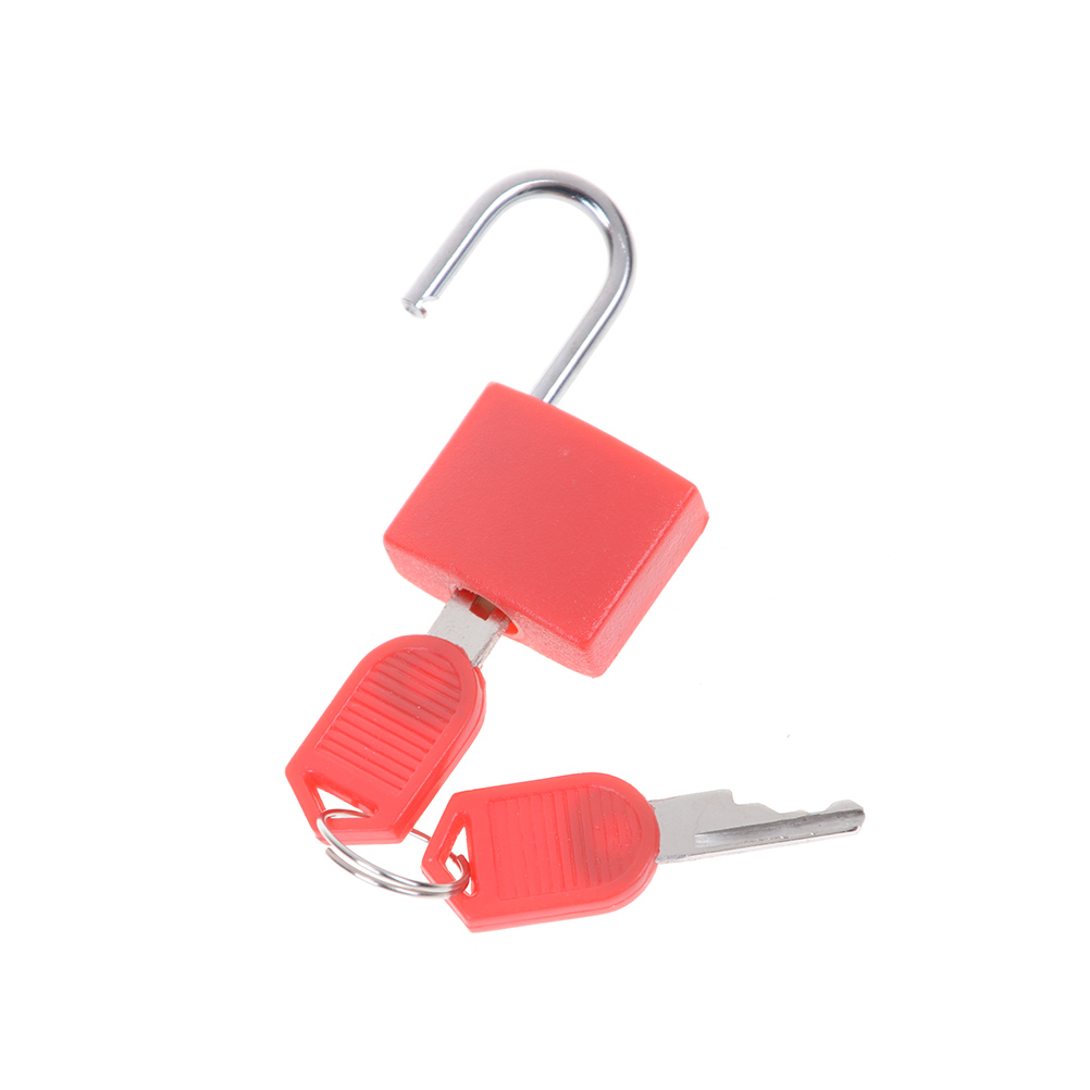 6 Colors Small Mini Strong Steel Padlock Travel Tiny Suitcase Lock With 2 Keys Hot Sale Замок
