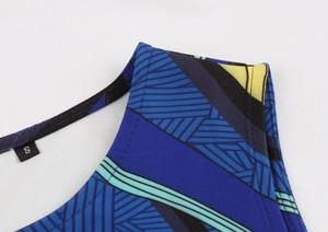 Image 4 - Aovica S 4XL Plus Size Women African clothing Dress Sleeveless Summer Dashiki Dresses vestidos de fiesta
