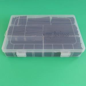 Image 2 - 312 pçs/set Tubulação Do Psiquiatra de Calor Isolamento Tubo Shrinkable Poliolefinas Sortimento Eletrônico 2:1 Kit Cabo de Fio Envoltório Manga