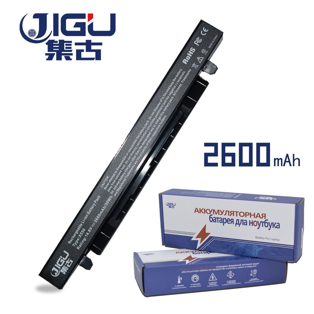 JIGU 4 Cells Laptop Battery For Asus R409V R510C R510D R510E R510L R510V X450C X450C X450L X450V X452C X452E X550C X550CA X550CA