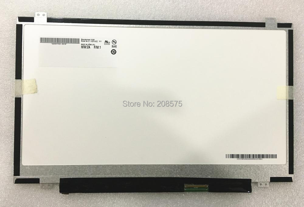Free shipping B140RW02 V.0 V.1 V.2 B140RTN03.1 LP140WD2-TLD2 TLC1 N140FGE-L32 LTN140KT03 Laptop LCD screen 1600*900 LVDS 40pin