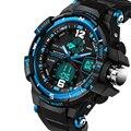 Homens G Estilo Militar Do Exército À Prova D' Água Esportes Relógios 2016 Novo marca G Choque Relógio de Forma Dos Homens de Luxo de Quartzo Analógico Digital relógio