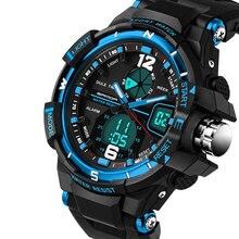 Hombres G Estilo Impermeable Del Ejército Militar Deportes Relojes 2016 Nuevo marca de fábrica G Shock Reloj Para Hombre de Moda de Lujo de Cuarzo Analógico Digital reloj