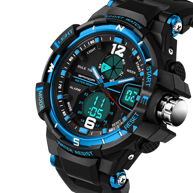 Men G Style Waterproof Sports Military Army Watches 2019 New Brand S Fashion Wat