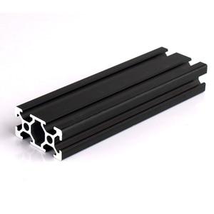 Image 1 - 1pc 2020 2040 2080 201000 3030 4040 t slot profil aluminiowy wytłaczanie 600mm 650mm 700mm 750mm 800mm dla DIY drukarka 3D CNC