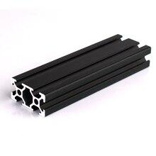 Extrusión de perfiles de aluminio con ranura en T para impresora 3D CNC, 1 unidad, 2020, 2040, 2080, 201000, 3030, 4040, 600, 650mm