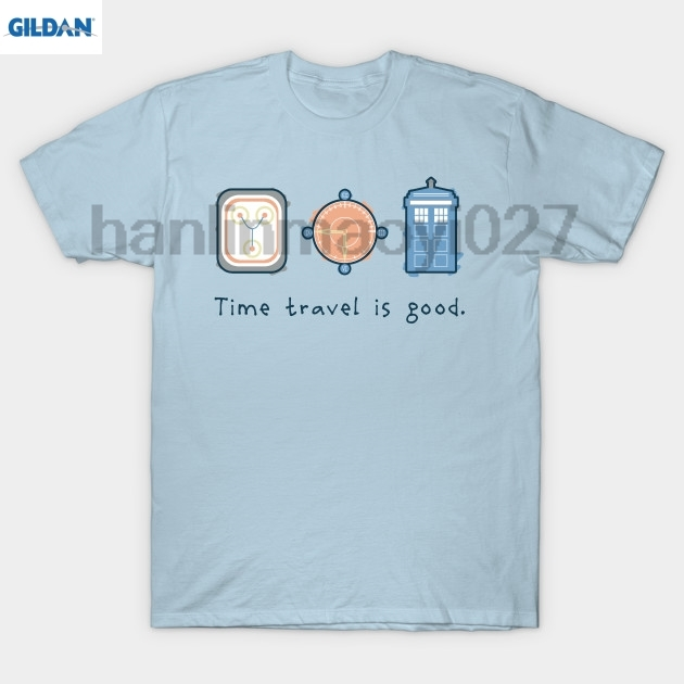 Возьмите путешествие во времени хорошая футболка