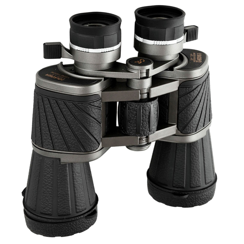 Baigish Binoculars 10x50 Military Telescope Bak4 binocular Zoom Professional football Hunting High Quality Powerful Genuine DM-4
