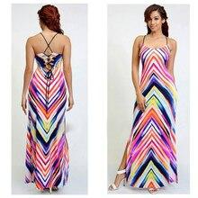 2017 nueva marca dress plus size mujeres partes playa del verano sin mangas atractivo vendedor caliente a-line correa de espagueti zaful boho dress
