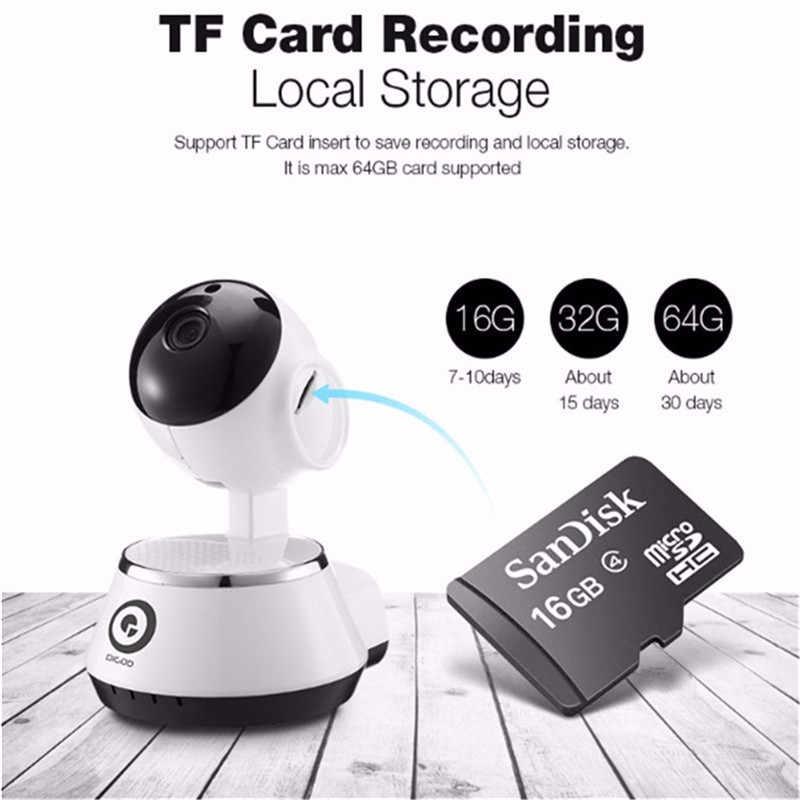 DIGOO BB-M1 Home Security IP Camera 720P Wireless Smart WiFi Camera WI-FI Audio Record Surveillance Baby Monitor HD CCTV Camera