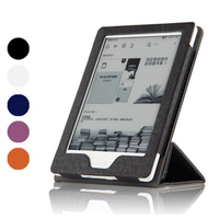 E Book Case For New Kindle 2016 Ersion Touchscreen Display 6 PU Leather Smart Wake Up