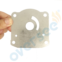 OVERSEE New Water Pump Plate 61N 44323 00 00 Replaces for Yamaha Outboard Engine