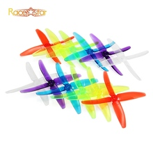 10 Pairs 20x Racerstar 5040 4 Blade FPV Racing Propeller 5.0mm Mounting Hole for FPV Quadcopter RC Racer Drone Racing Frame Kit
