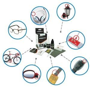 Image 2 - Visbella 2Pcs 7 Tweede Speedy Fix Quick Bonding Lijm Poeders Voor Metaal Staal Plastic Hout Keramische Reparatie Lijm Versterkende