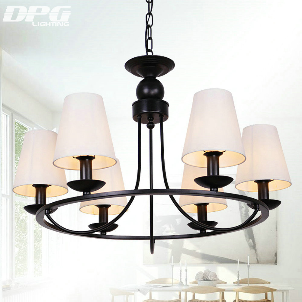 Modern Chandeliers Lights Ceiling Lustre Lustre Black Led Chandelier Home Home Lighting
