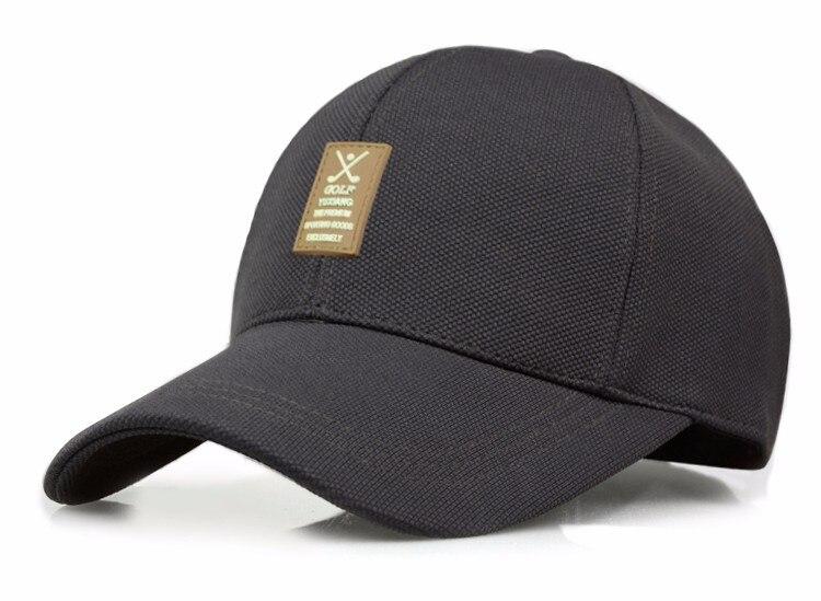 Golf Clubs Emblem Baseball Cap - Dark Grey Cap Option