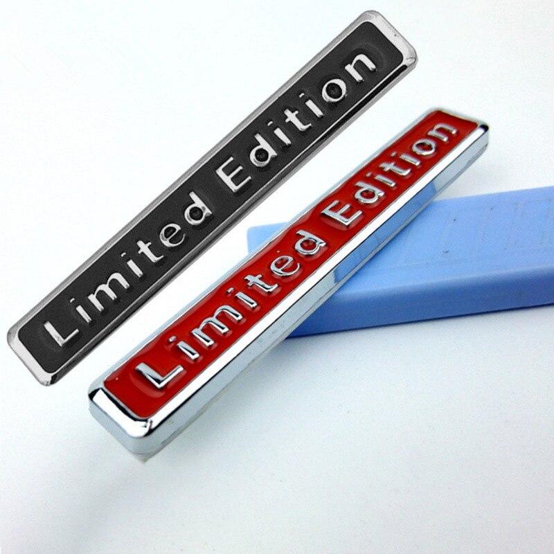 NEW 3D Metal Limited Edition Auto Car Sticker Decal For Citroen Picasso C1 C2 C3 C4 C4L C5 DS3 DS4 DS5 DS6 Elysee C-Quatre