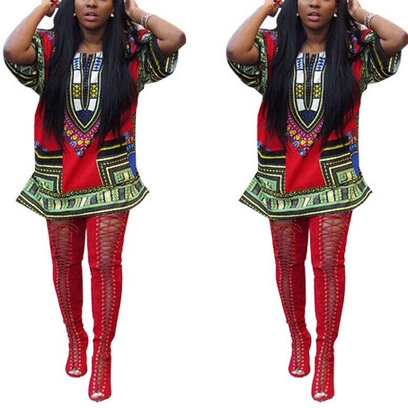 Unisex dress Men Women Hippie Style Tribal African Shirt Dashiki 2018 fashion