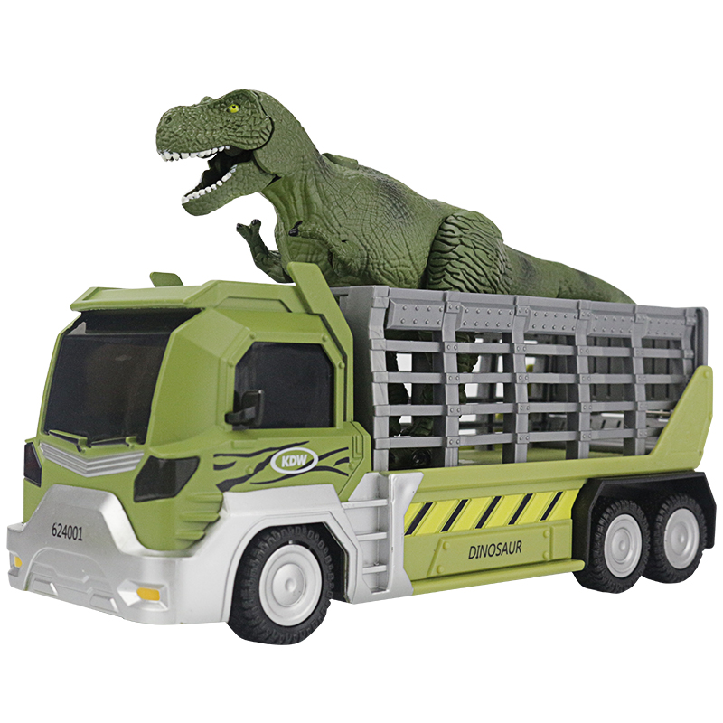 Dinosaur Transport Vehicle Simulation Dinosaurs Combination Set Animal Assemble and Disassemble Toys Random Gift of A