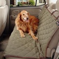 62283 Люкс Зима Теплая Собака Автомобиль Обложка Водонепроницаемый Скамейке Коврики домашние животные Задняя Крышка Сиденья Кровать Собаки Вождения Подушка Для Авто путешествия