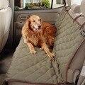 62283 Luxo Inverno Quente Cão Tampa Do Carro À Prova D' Água Esteiras De Bancada animais de estimação Cama Do Cão de Volta Tampa de Assento Almofada de Condução Para Auto bolsa de viagem