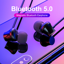 ROCKSPACE Wireless Earphones Bluetooth Earbuds Handsfree Magnetic Headphones Noise Cancelling Headset With Mic For Phone Xiaomi