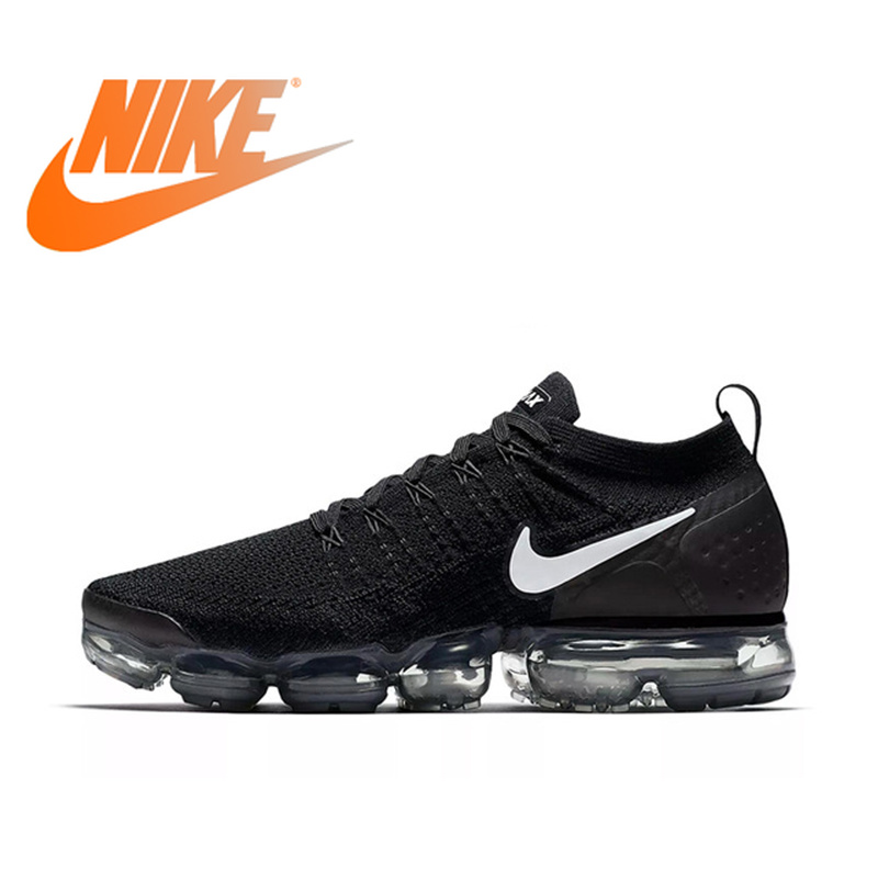 US $51.39 63% OFF|Original Authentic NIKE AIR VAPORMAX FLYKNIT 2 Mens Running Shoes Sneakers Breathable Sport Outdoor Good Quality 942842 001 in