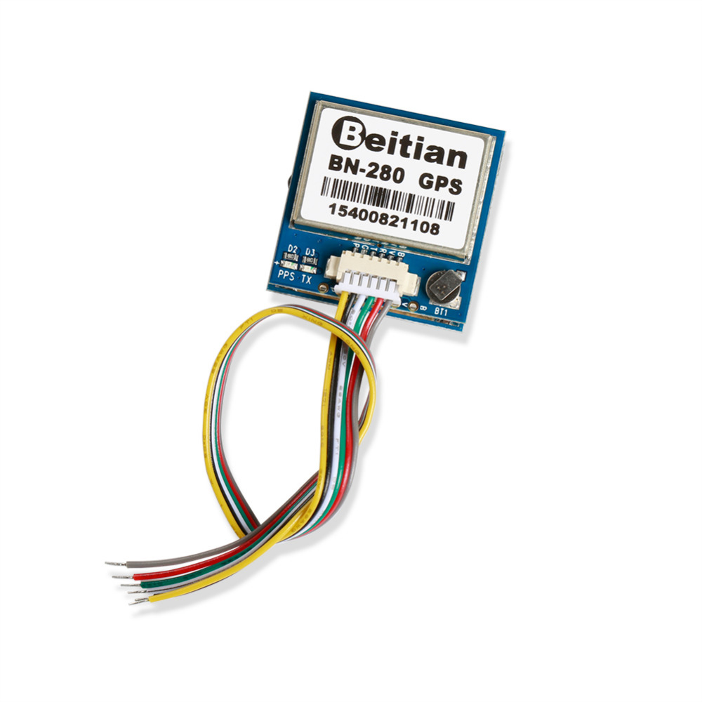 Dual <font><b>BN</b></font>-<font><b>280</b></font> Dual Module Compass GPS built in FLASH for FPV RC racing drone long range flying image