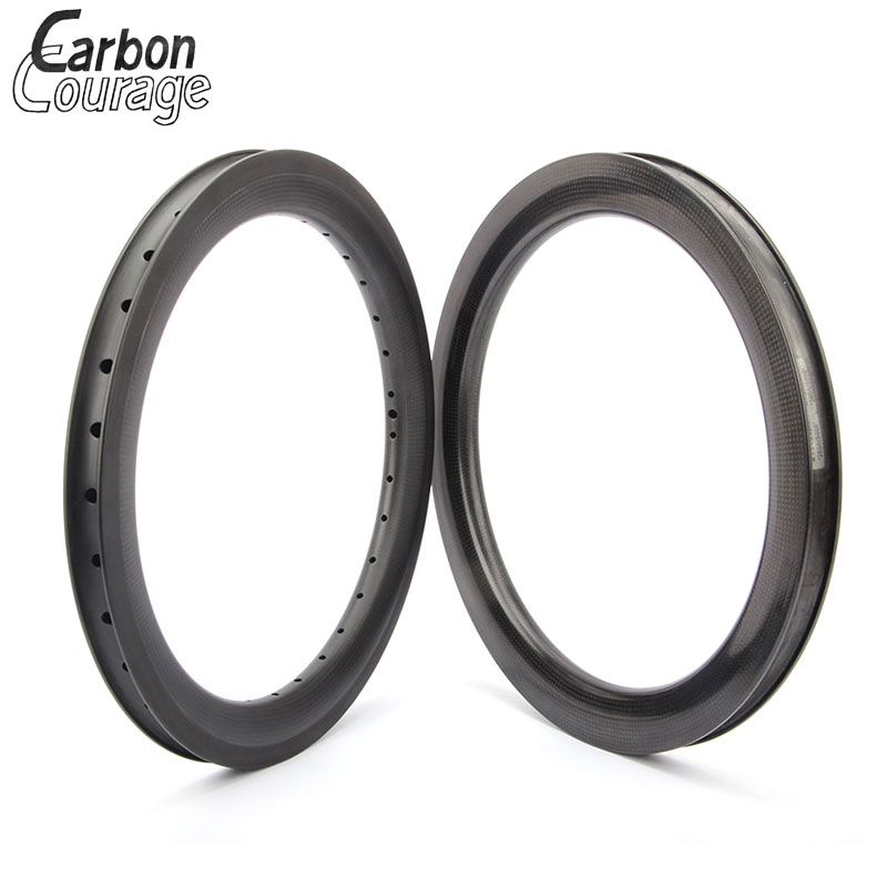 Bicycle Carbon Wheel 3K Matt Carbon Finish 20' 406 Carbon Rims 38mm Depth 30mm Width 20/24/28h For Riders Bicycle Rims 20 Inch цена