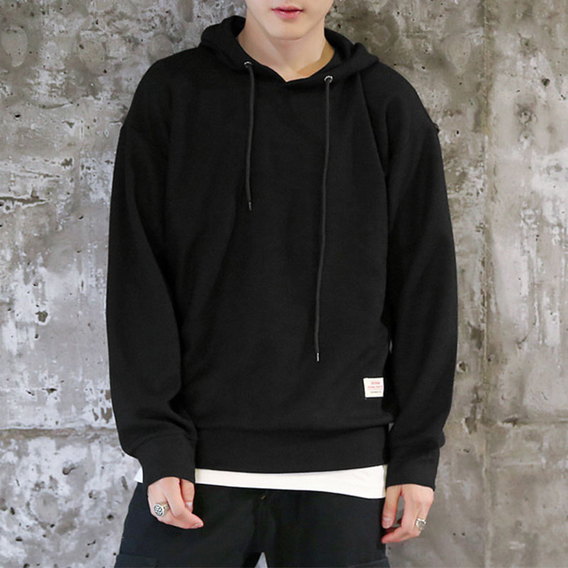 2017 Men Fashion Hoodies Sweatshirt Solid Color Trend Fleece Cotton Pullover Coat Warm Clothes Casual Hoddy Hip Hop Hoodies Men ...