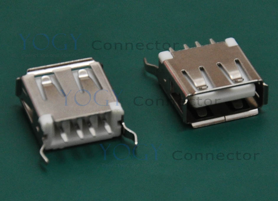 (30 pcs/lot) Type-A USB Connector Receptacle, Commonly used in laptop motherboard and automotive audio